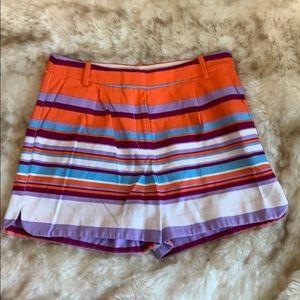 J. Crew Striped Shorts, Sz. 6